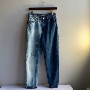 Demin Co Skinny High Waisted Jeans Size 6 Bleach